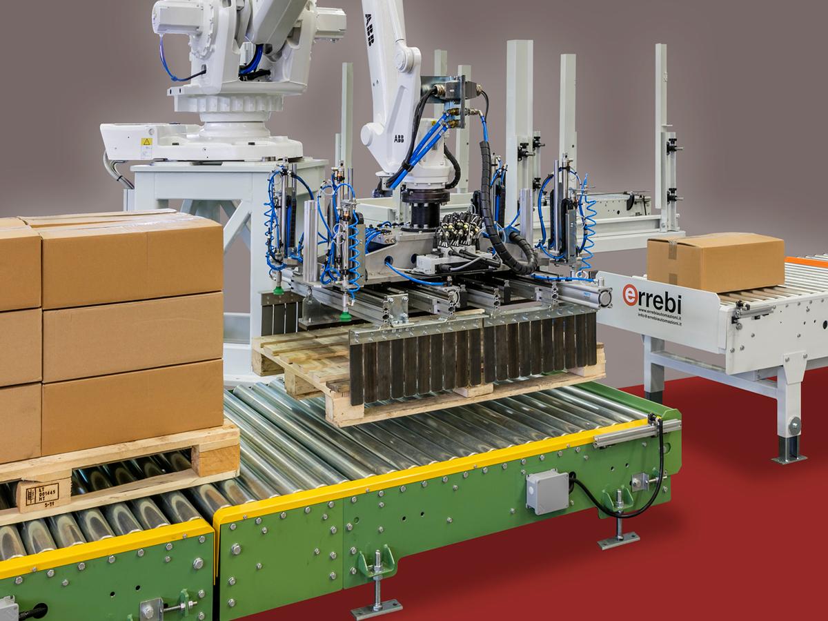 robot pallettizzazione