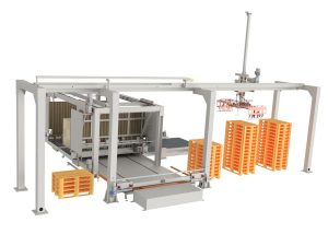 AUTOMATIC PALLET INSERTER