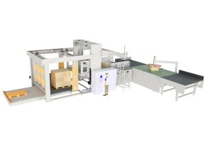 AUTOMATIC PALLETIZER OF CARDBOARD