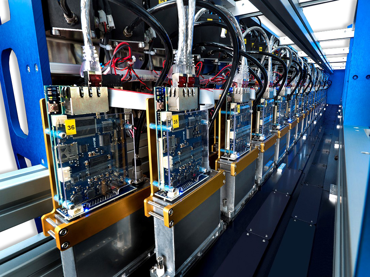 single pass inkjet printer for industrial line