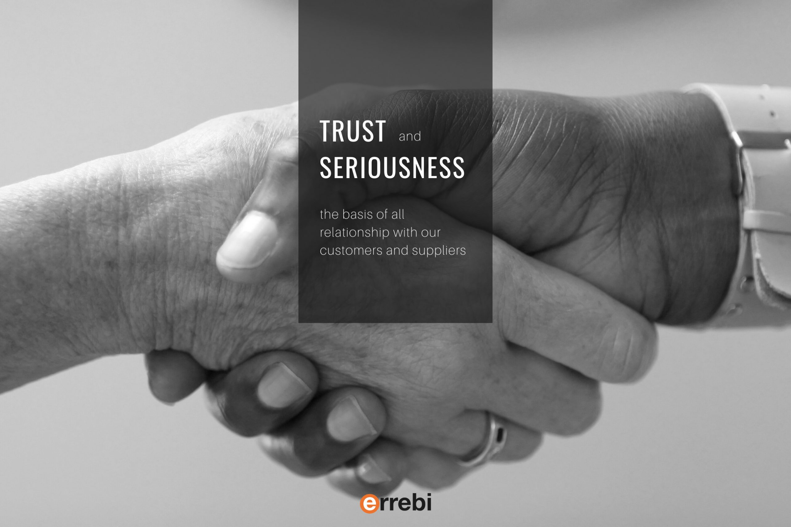 Trust and seriusness