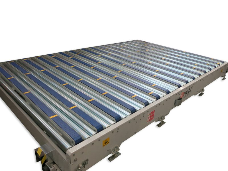 Roller - modular conveyor exchange system