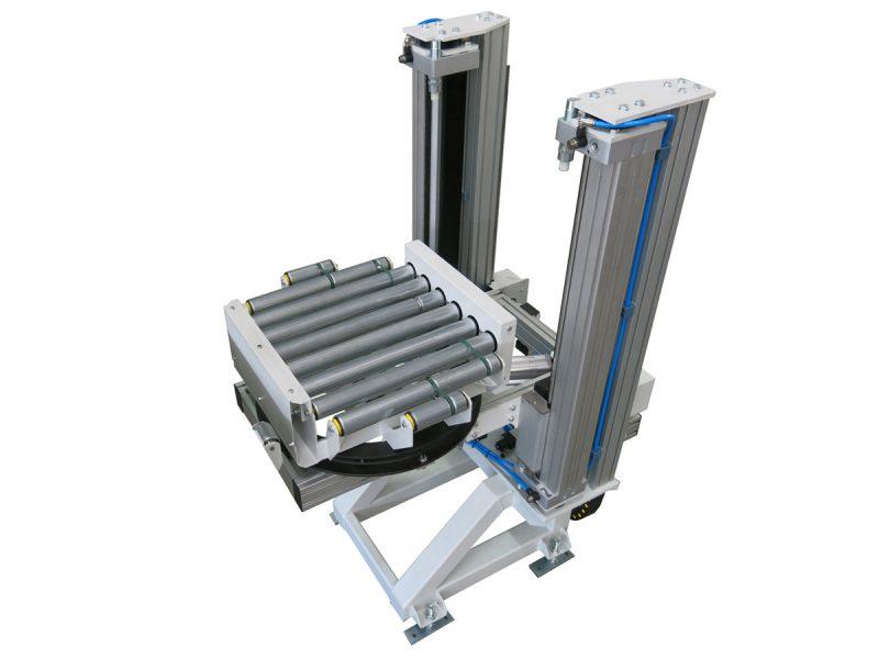 180° rotating roller elevator