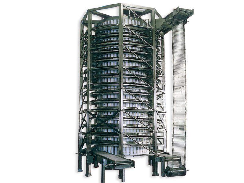 tower elevetor for food industry
